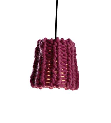 Lampa wisząca Granny 18 cm Malinowa