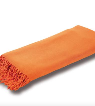 Pled Comfort Bamboo 140x200 Pomarańczowy