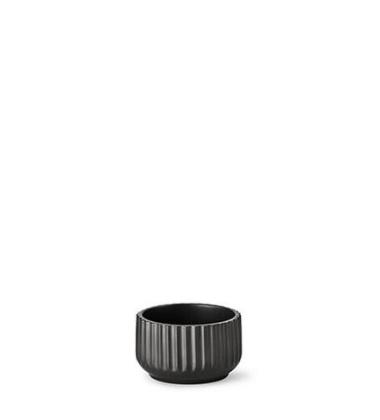 Miseczka z porcelany Lyngby 11 cm Czarna