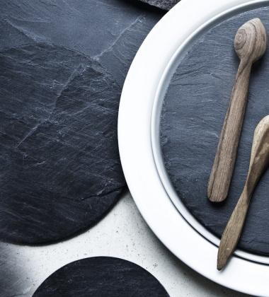 New Norm Dinnerware Slate 17,5 cm Black