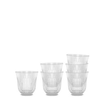 Komplet niskich szklanek Lyngby 26 cl Set 6