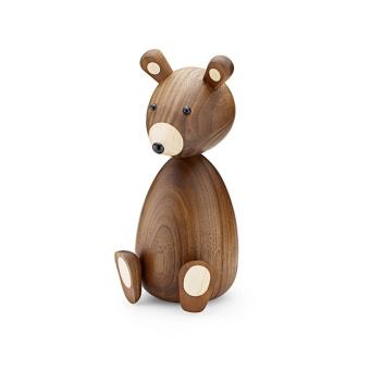 Drewniany Niedźwiadek Papa Bear 23,5 cm Orzech amerykański