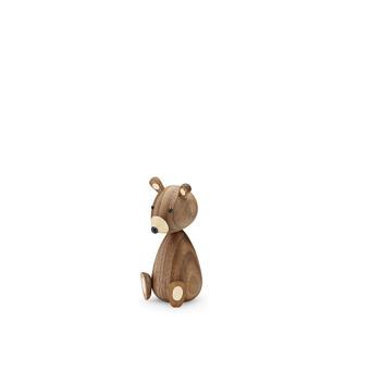 Drewniany Niedźwiadek Baby Bear 11 cm Orzech amerykański