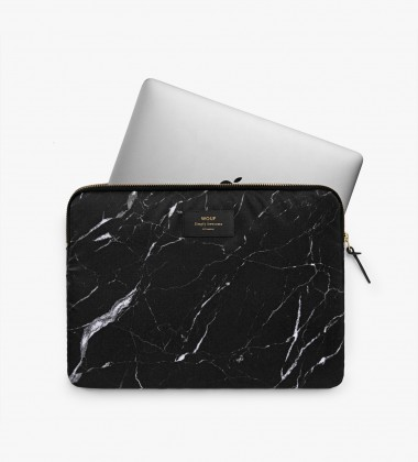 Etui na Laptopa 13-inch MacBook Black Marble
