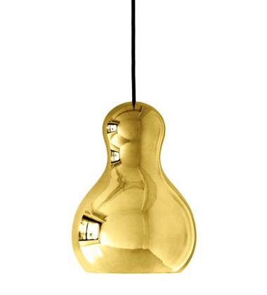 Lampa wisząca Calabash P1 H21 cm Złota