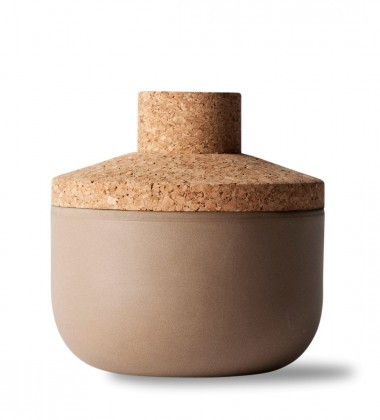 Norm Stoneware Jar Container 14 x 14 Small