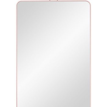 Lustro wiszące VIEW Rectangular 40x60 Różowe