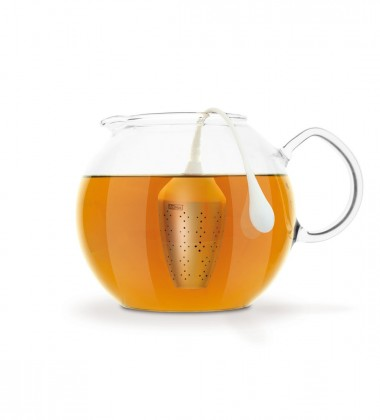 Zaparzaczka do herbaty Hangtea Duża Biała