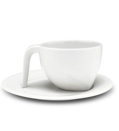 Filiżanka i spodek do Espresso EGO Set 100 ml Biała