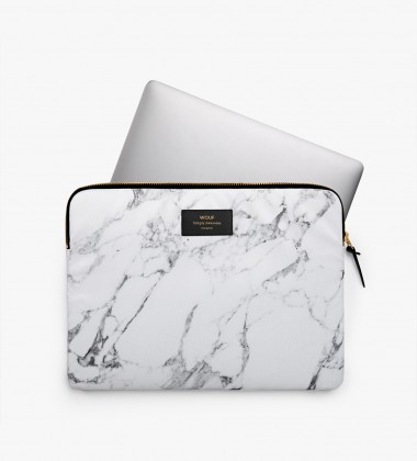 Etui na Laptopa 13-inch MacBook White Marble