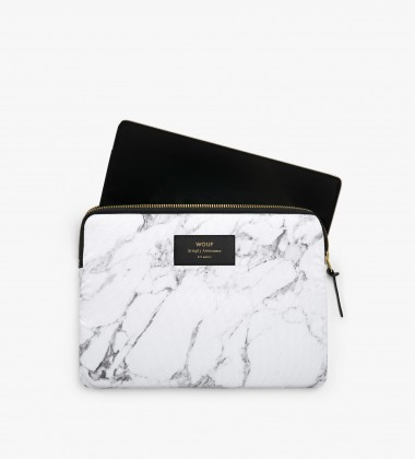 Etui na Tablet iPad White Marble