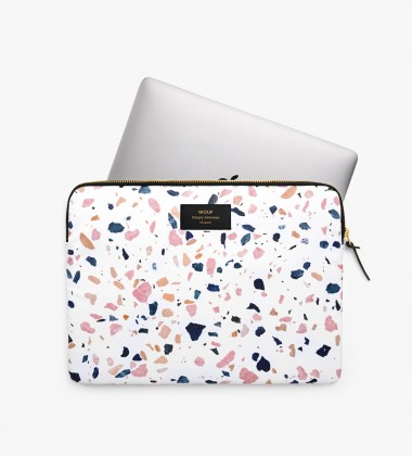 Etui na Laptopa 13-inch MacBook WHITE TERRAZZO