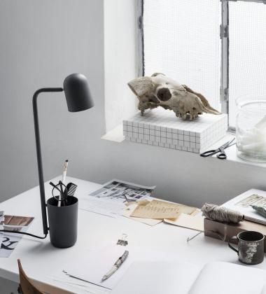 Lampa stołowa BUDDY Grafitowa