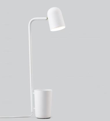 Lampa stołowa BUDDY Biała