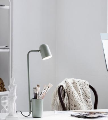 Lampa stołowa BUDDY Miętowa