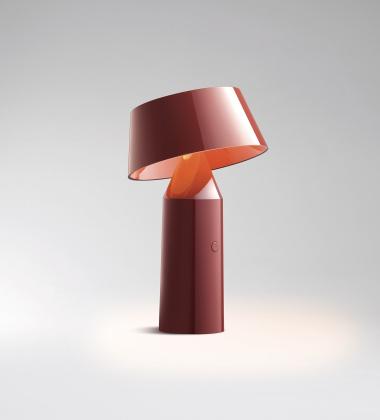 Lampa stołowa LED BICOCA Czerwona