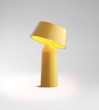 Lampa stołowa LED BICOCA Żółta