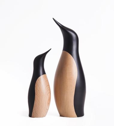 Drewniany pingwinek PENGUIN 18 cm