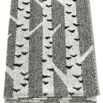 Ręcznik kąpielowy Koivu 80x150 Szaro-Czarny