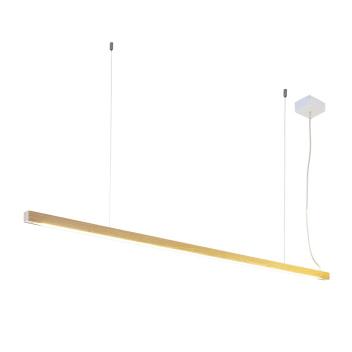 Drewniana lampa wisząca LED 28 Jesion 100 cm