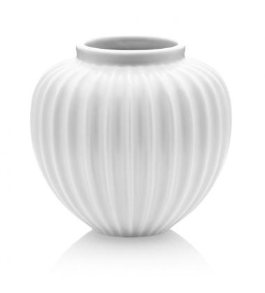 Wazon z porcelany RIBBED H17 cm Miętowy