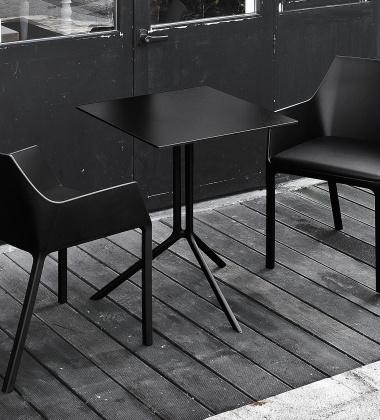 Krzesło z tworzywa MEM Czarne