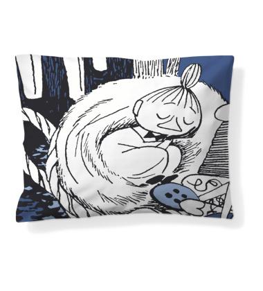 Poszewka na poduszkę Muminki 50x60 Snoozing Little My