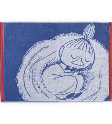 Ręcznik Muminki z Małą Mi 50x70 Snoozing Little My