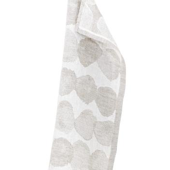Ręcznik lniany SADE 48x70 Biało-Beżowy