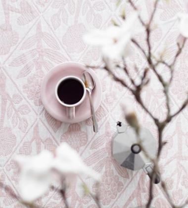 Obrus z wzorem KUKAT 140x240 cm Różowy