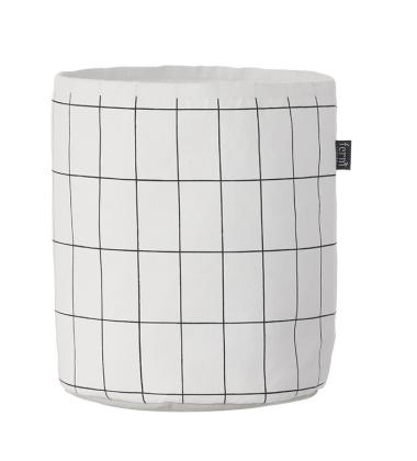 Koszyk GRID Basket Small 25x22 Biało-Czarny