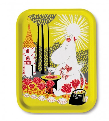 Taca Moominmamma Collecting Berries Tray 27x20 cm