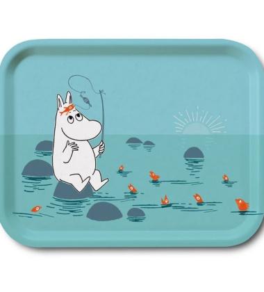 Taca Moomin Fishing Tray 27x20 cm Turkus