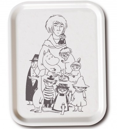 Taca Tove and Her Characters Tray 27x20 cm Biała