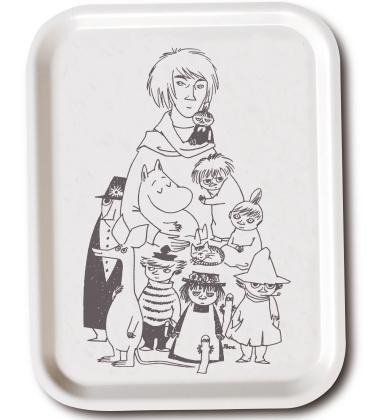 Taca Tove and Her Characters Tray 27x20 cm Biała