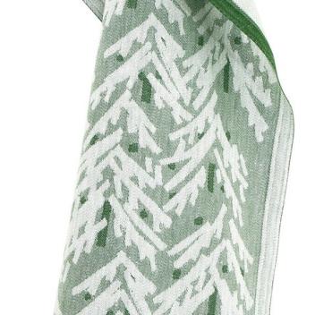Ścierka kuchenna Kuusi 46x70 Biało-Zielona