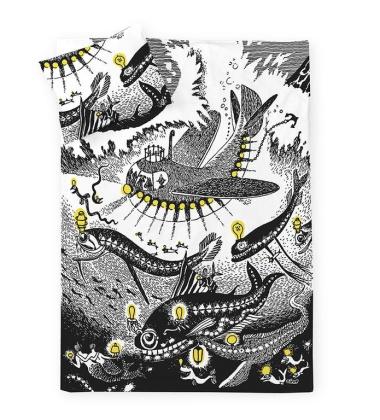 Pościel z Muminkami 150x210 Moomin Oshun Oxtra