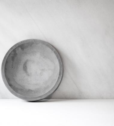 Misa Circular Concrete 33 cm Beton Szary