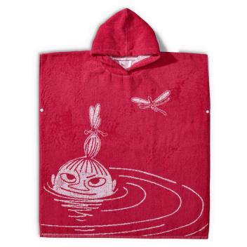 Ponczo z Małą Mi 116-134 Swimmer Little My Red