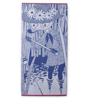 Ręcznik kąpielowy Włóczykij 90x180 Snufkin Blue