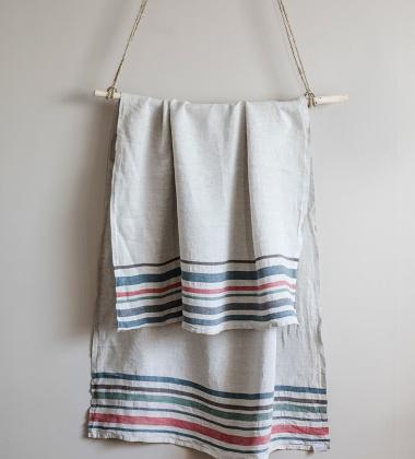 Ręcznik kąpielowy MERU 95x180 Lniano-Multi