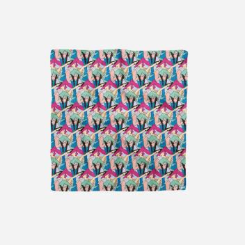 Jedwabna apaszka Silk Scarf Agustina CAMALLONGA 50x50