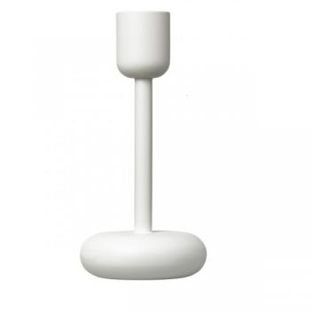 Świecznik NAPPULA Candle Holder 183 mm Biały