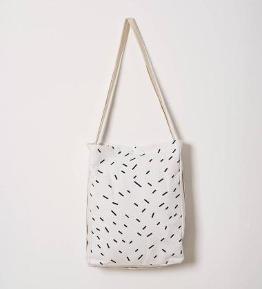 Plecak Torba Agustina TERRAZZO 30x45 Biały