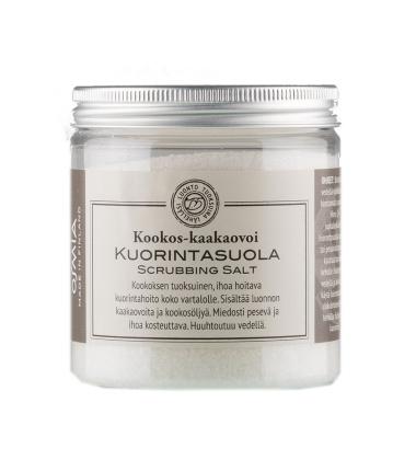 Body scrubbing salt 300 g Coconut Cocoabutter