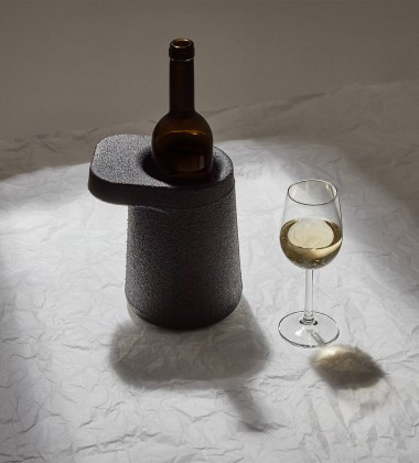 Cooler do wina HAT 18x20x15 Czarny
