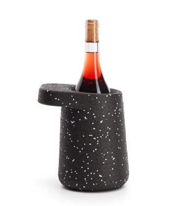 Cooler do wina HAT 18x20x15 Czarno-Biały