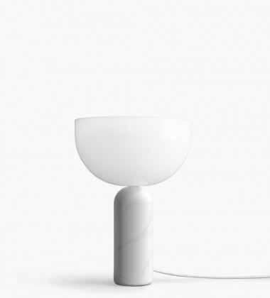 Lampa stołowa Kizu Marble Small H35 cm Biały Marmur