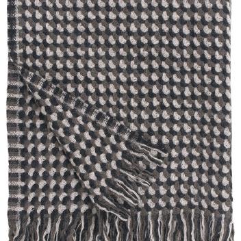Koc wełniany ALVA 130x170 Brązowy