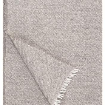 Koc-Narzuta z wełny SARA 140x180 Beżowy